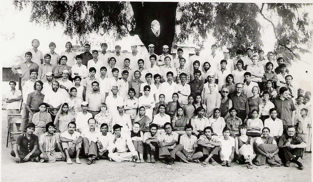 The Faculty and Graduates of the First HDTI, December, 1976